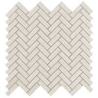 Room White Herringbone Wall